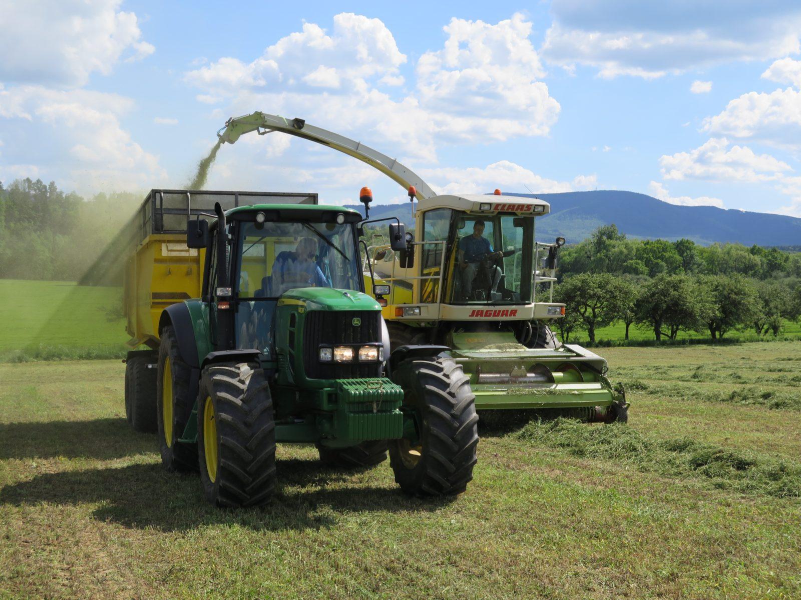 Obsluha zemědělských strojů – Palkovice