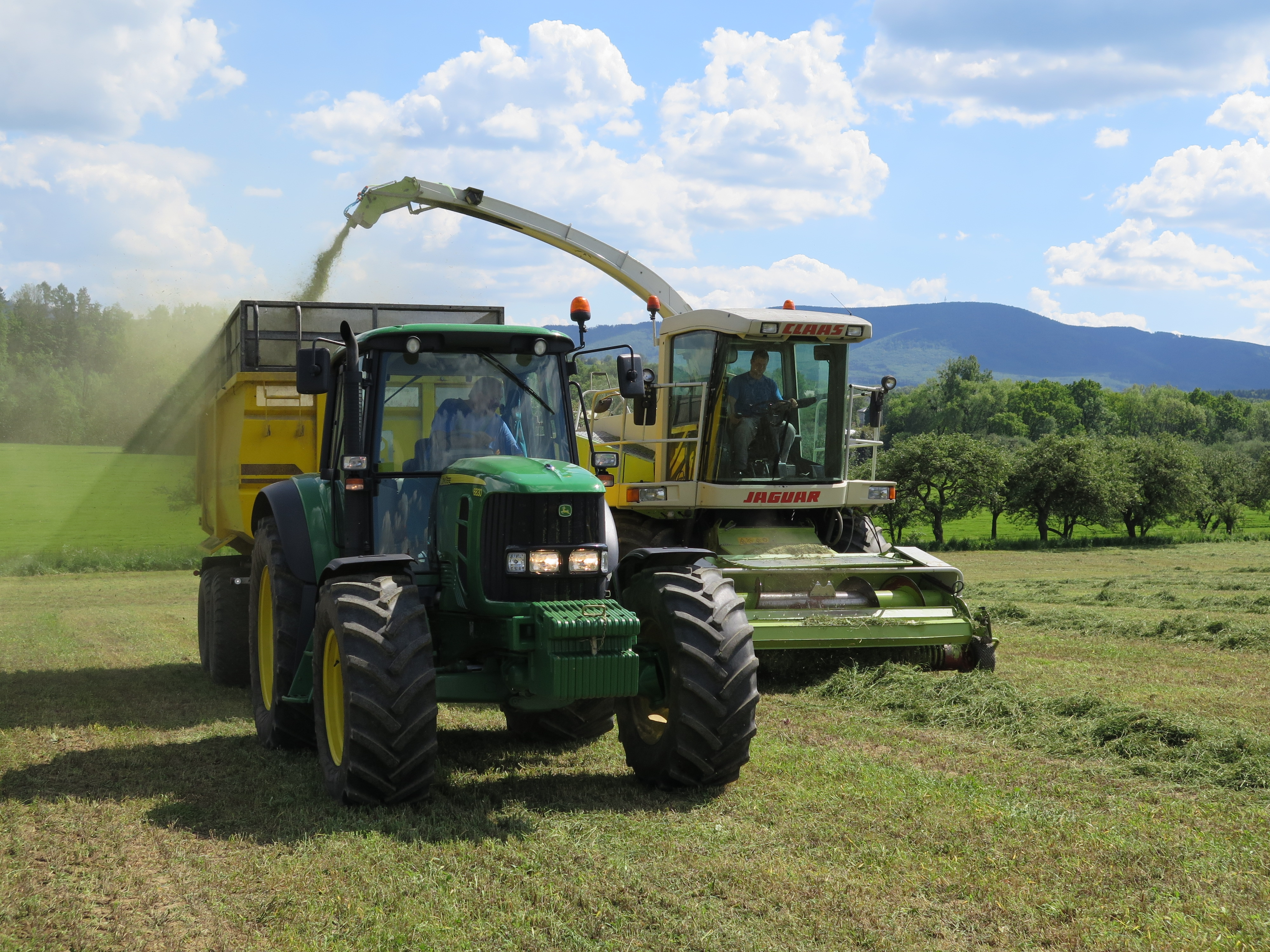 Obsluha zemědělských strojů – Všechovice