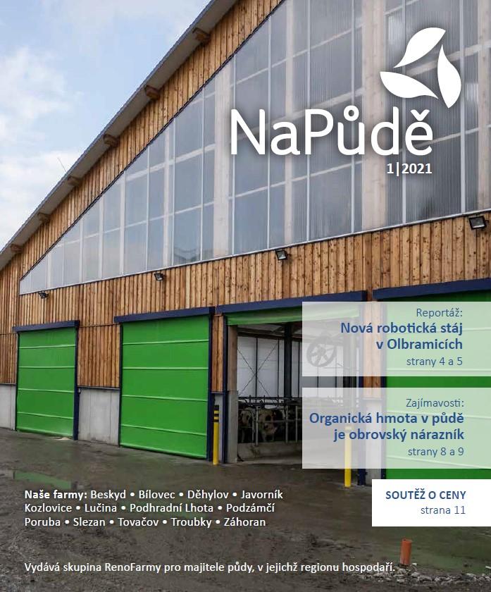 Nové vydání časopisu NaPůdě